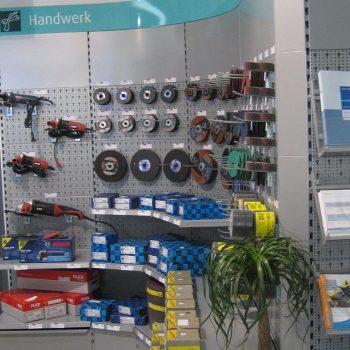 Referenzbild vom Aufbau der Ladenfläche Linde