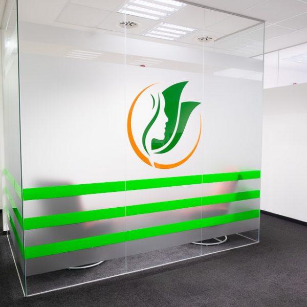 Facharztpraxis: Acrylglas Logo
